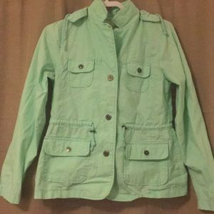 EUC Mint Jacket, perfect for Spring!